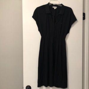 Lacoste polo Black Dress Size 8 (40)